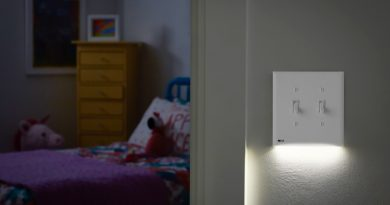 lighted switch safety childs room