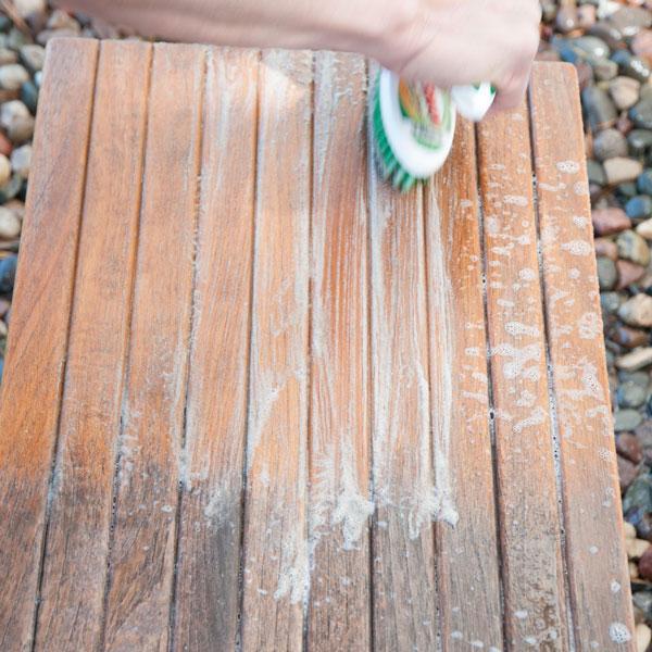 brush and rinse teak cleaner