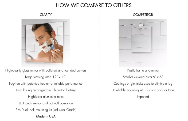 clearmirror-comparison-to-competitors-shower-mirror