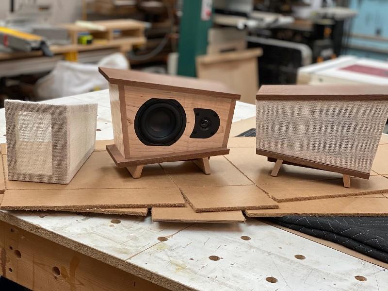 custom-wood-and-fabric-speaker