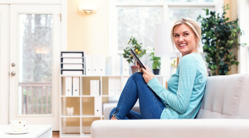 young-woman-enjoying-her-comfort-and-security-of-her-own-home