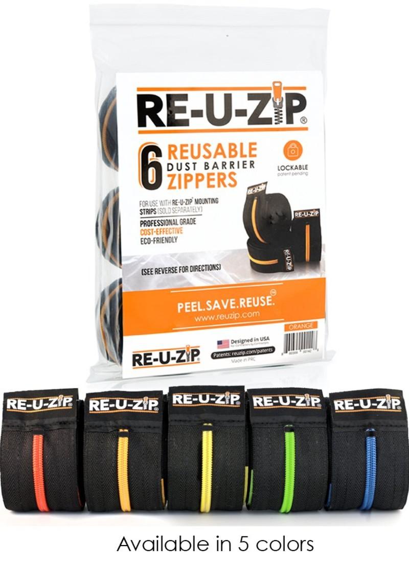 RE-U-ZIP-dust-control-zipper-system-6-pack