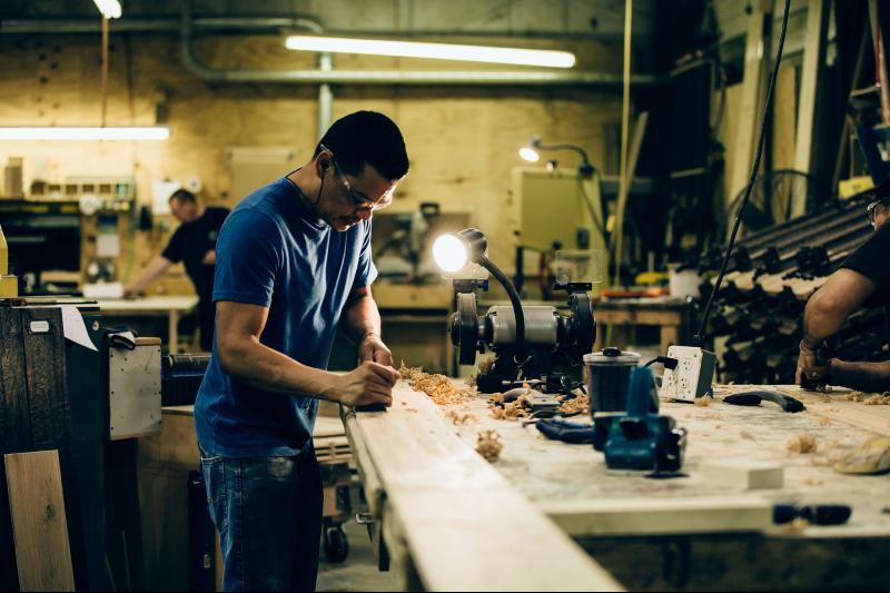 cochrans-lumber-shop-picture-chiseling-wood